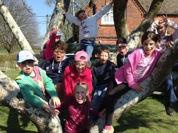 Residential trips at Castle Mead School
