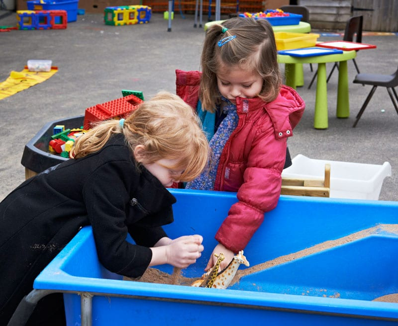 Nursery at Castle Mead School